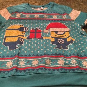 Other - Minion Christmas sweatshirt